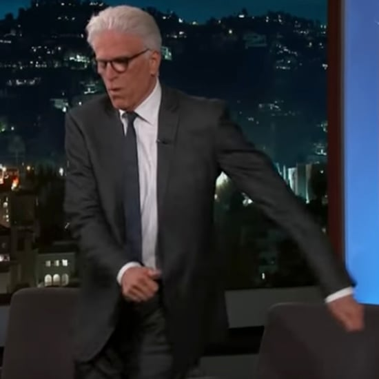 Ten Danson Doing the Floss Dance on Jimmy Kimmel Live