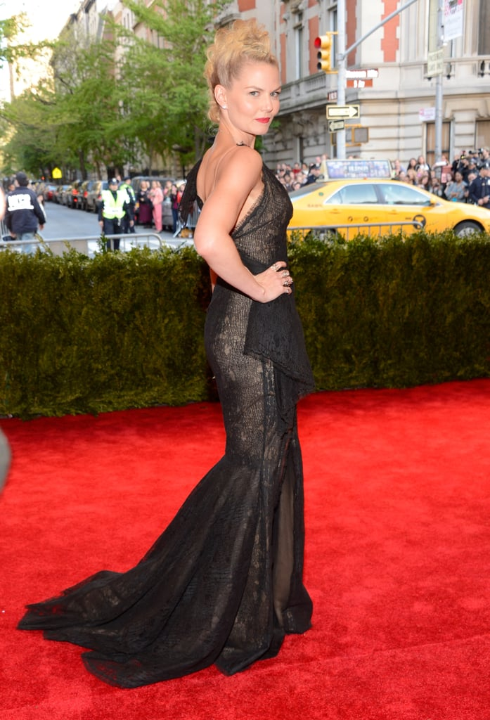 Jennifer Morrison at the Met Gala 2013.