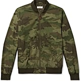 J. Crew Wallace & Barnes Camouflage-Print Cotton-Ripstop Bomber Jacket