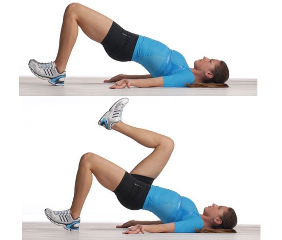 Glute Bridge With Marching