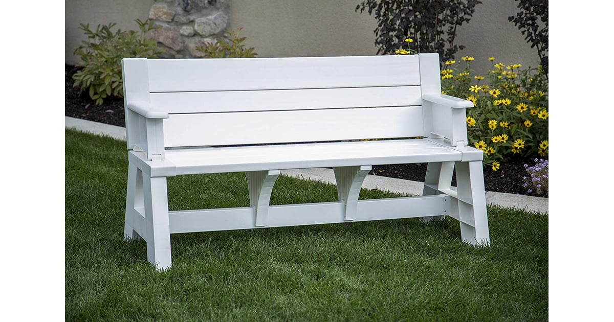 Premiere Products Resin Convert A Bench Best Multifunctional Furniture For Small Spaces