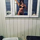 Selena's Black Roped Bikini Was Actually From a Photo Shoot