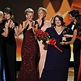 """""""It's my first and best pageant ever."""" — Best actress in a comedy winner Melissa McCarthy, riffing on the pageant-spoofing bit she and the other nominees had just done."""