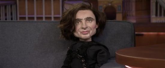 Jimmy Fallon Reveals He Bought Timothée Chalamet Puppet