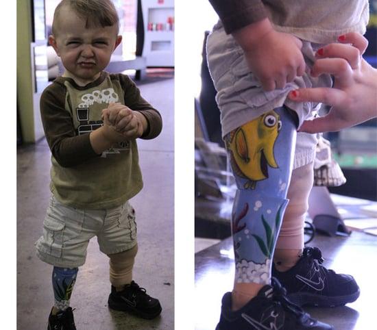 2-Year-Old Tattoos Leg
