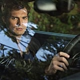 When Christian Burns a Hole in His Windshield (With His Eyes)