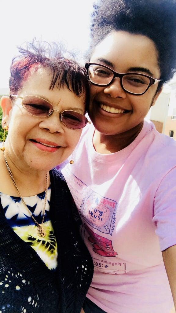 Grandma Irons Pride Flag Photos 2018