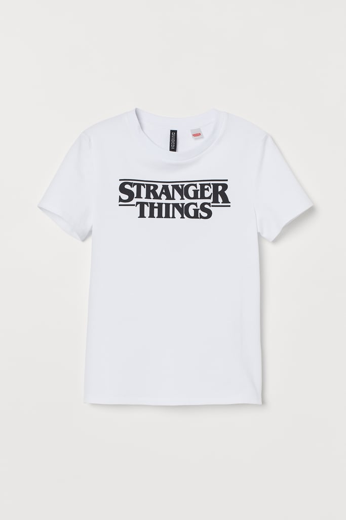 Stranger Things x H&M T-Shirt With Motif