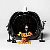 Pumpkin Diorama Halloween Fairy Garden Container