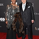Dionne Warwick and Clive Davis