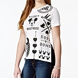 Mickey and Minnie Mouse Graphic High-Low T-Shirt