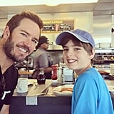 """He shared an adorable selfie with his son in June 2015, writing, """"Welcome to Mississippi, son! First stop . . . Waffle House. Got to start the day off right."""""""