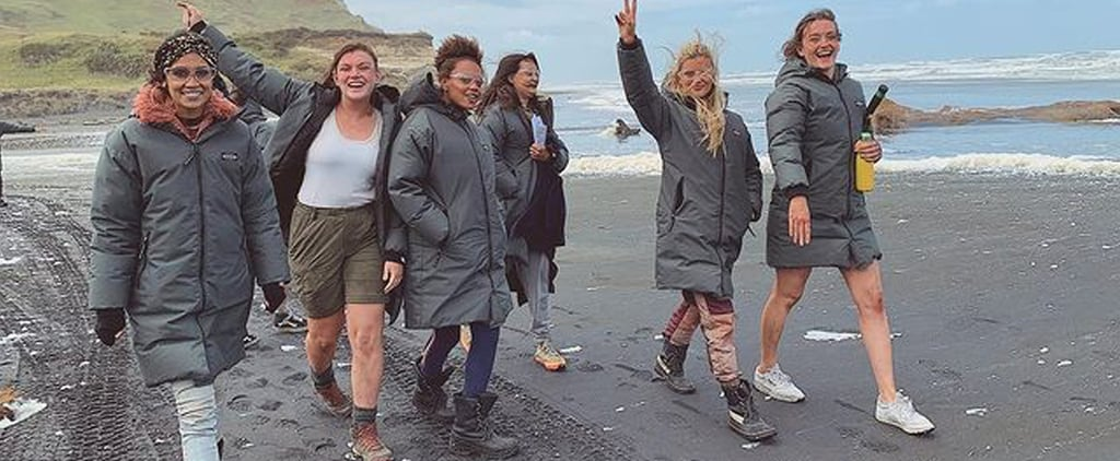 Pictures of the Cast of The Wilds Hanging Out
