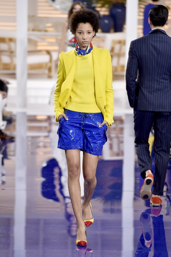 We can totally see Melania wearing this bright yellow coat and matching sweater for another head-turning airport look.