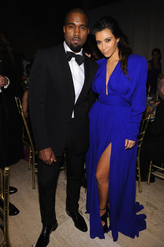 Kanye and Kim were dressed to the nines for the NYC Angel Ball in October 2012.
