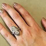 2.35 Carat Edwardian Three-Stone Dinner Ring ($9,850)