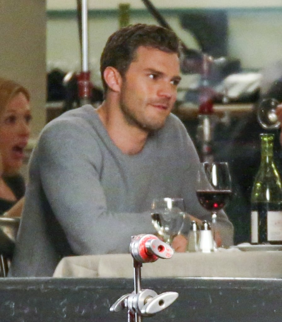 fifty shades darker movie set pictures popsugar entertainment