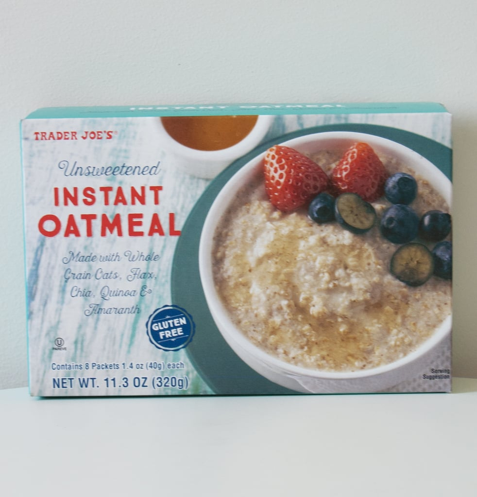Pick Up: Unsweetened Instant Oatmeal ($3)