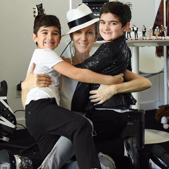 Celine Dion's Twins Michael Jackson Birthday Party Pictures