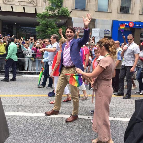 Justin Trudeau at Toronto Pride Parade