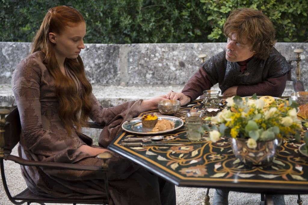 Sansa and Tyrion: Very Unhappily Married