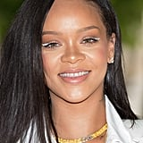 Rihanna With White Eyeliner
