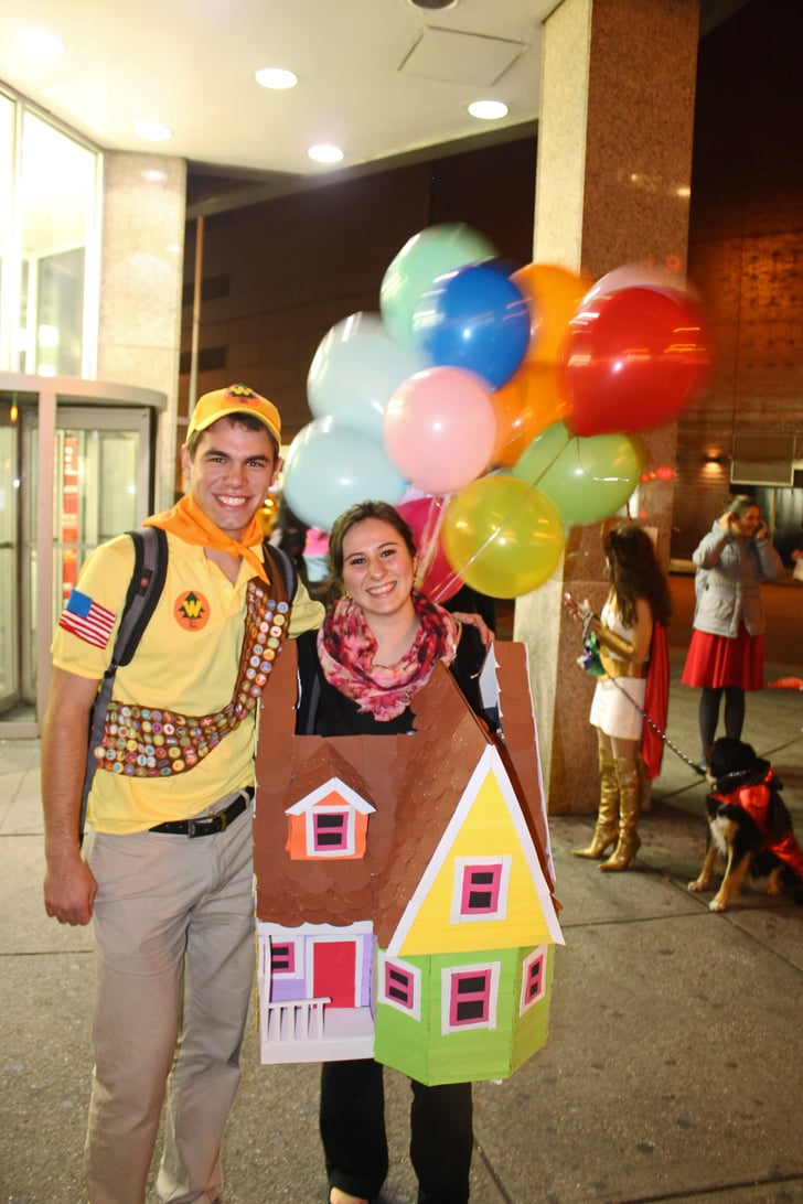 Up Cheap Diy Couples Halloween Costumes Popsugar Smart