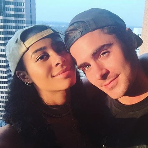 Zac Efron and Sami Miro Anniversary Instagram Photo