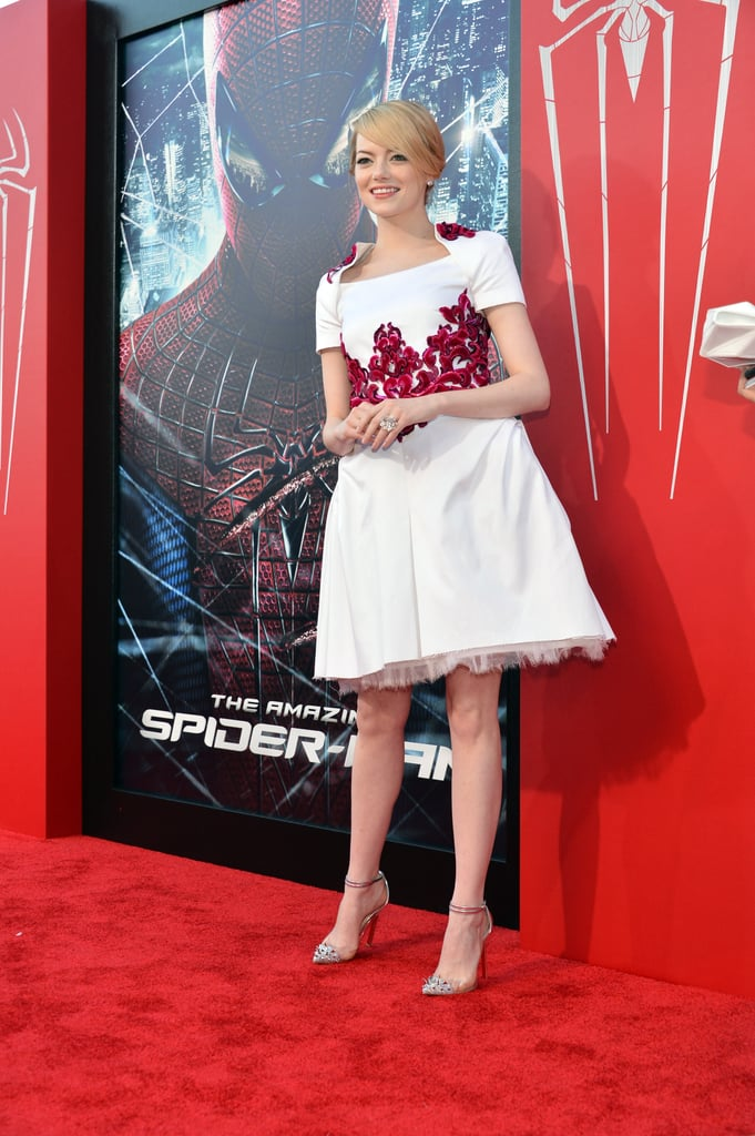 Emma Stone and Andrew Garfield Bring The Amazing Spider-Man to LA