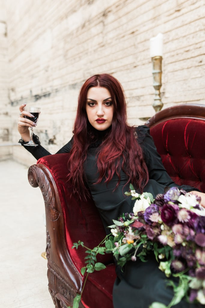 This Haunting Bride Looks Like She's a Vampire From The Craft, and We're Obsessed