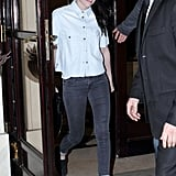 Kristen Stewart & Robert Pattinson Paris Date Night Pictures