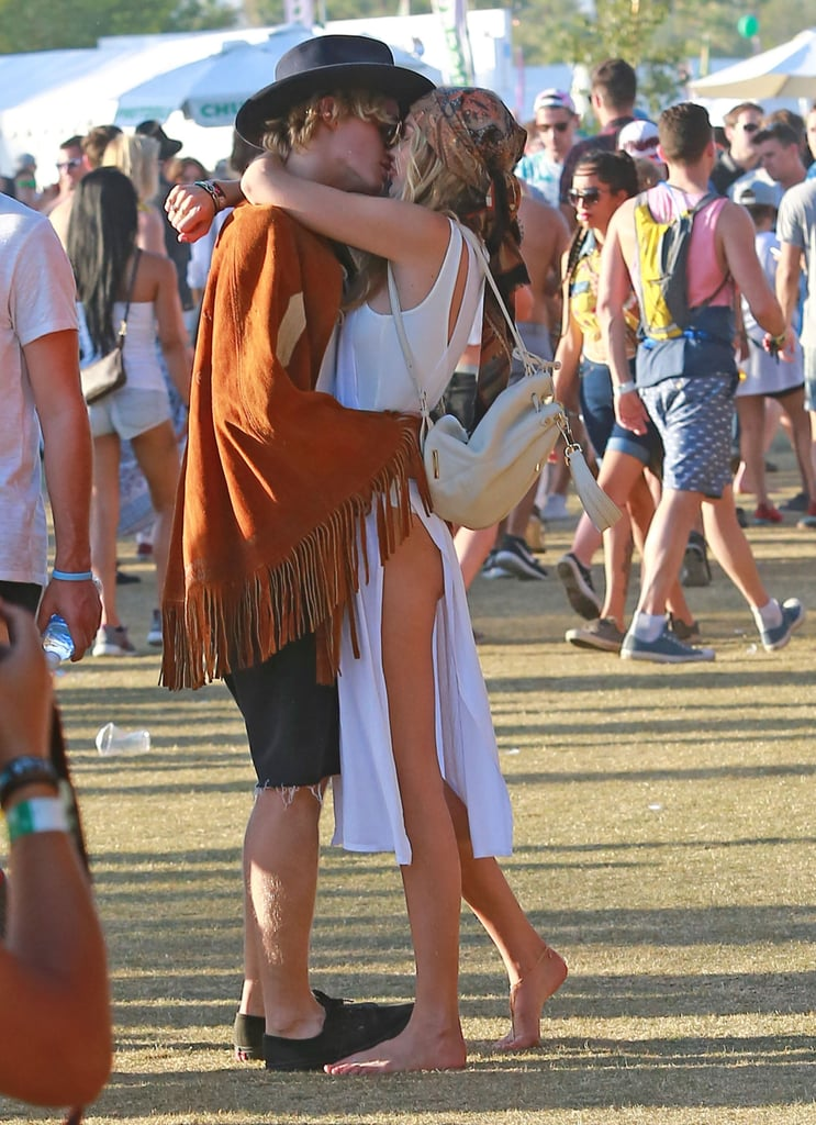 Gigi Hadid and Cody Simpson packed on the PDA in 2015.