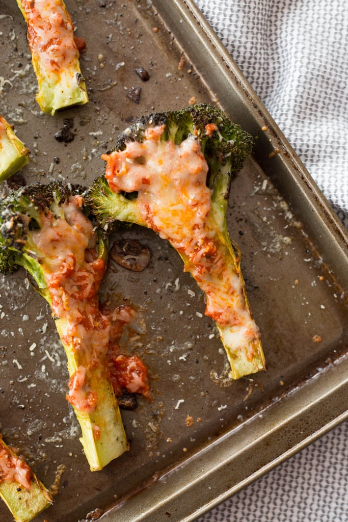 Margherita-Style Charred Broccoli Slabs