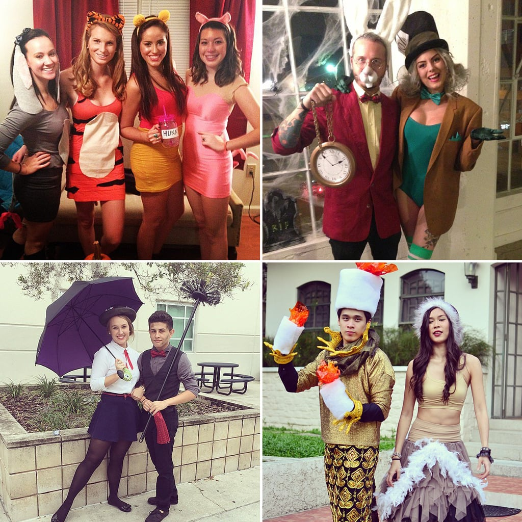 DIY Disney Costumes For Adults  sc 1 st  Popsugar : cute easy halloween costumes adults  - Germanpascual.Com