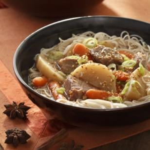 Recipe For Chinese Pork and Vegetable Hot Pot