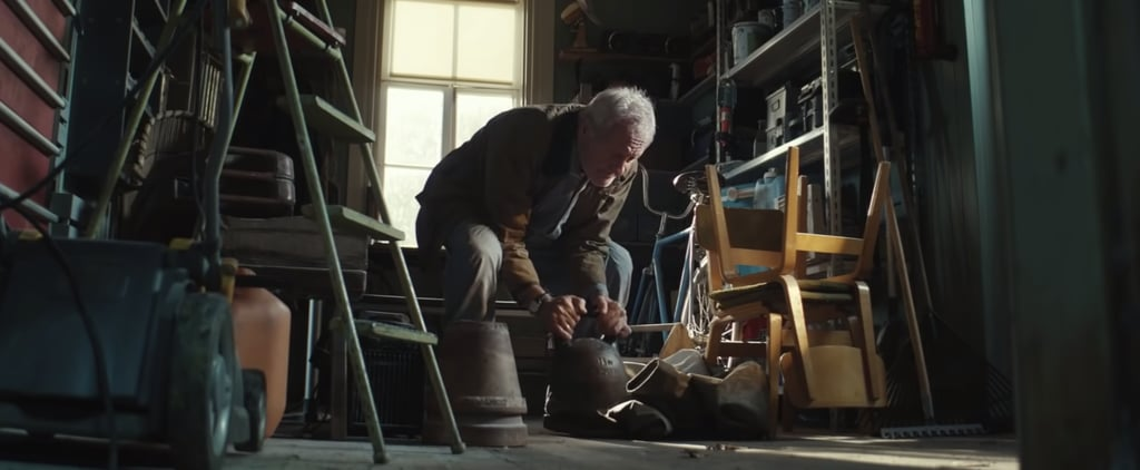 Emotional Holiday Ad With Grandpa Lifting Weights   Video