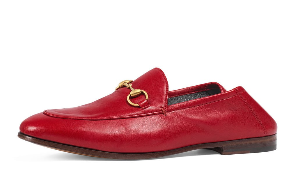 06cef168102 Gucci Brixton Leather Horsebit Loafers