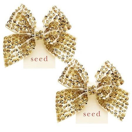 Seed Vintage Sequin Bow ($16.95)