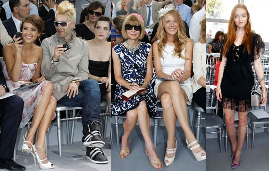 Pictures of Celebs at Dior PFW Couture