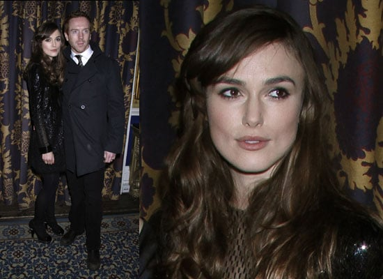 Photos of Keira Knightley at The Misanthrope Press Night