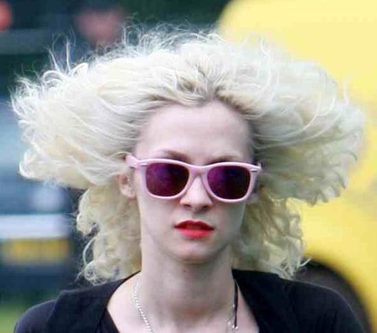 Glastonbury celebrity style wigs