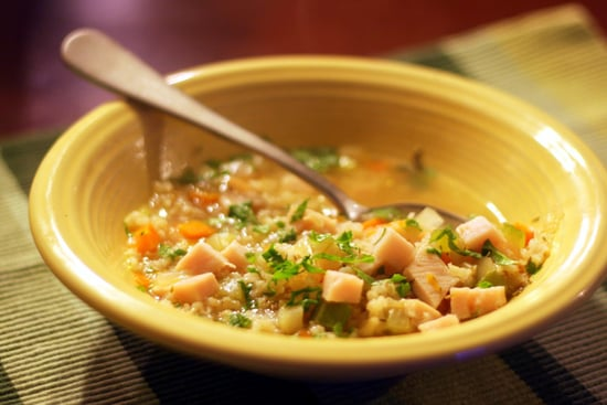 Turkey and Brown Rice Soup