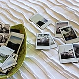 Display miniature Polaroids snapped during your trip