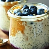 PB&J Chia Pudding With Blueberry Jam