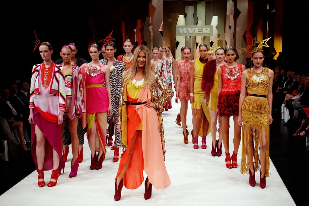 Pictures of Jennifer Hawkins and Runway Models at Myer Spring Summer Collection Launch Fashion Show in Sydney 2011-08-11 14:08:57