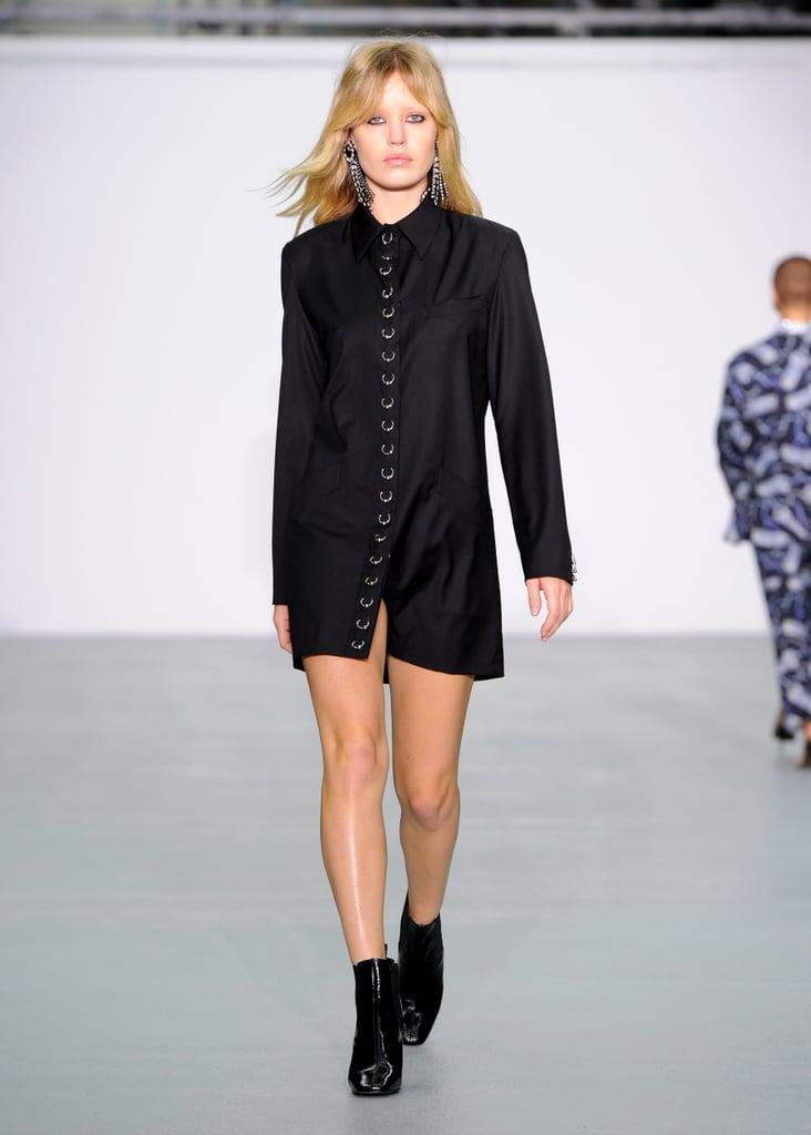 Georgia May Jagger at London Fashion Week