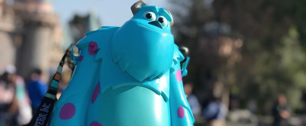 Disney Pixar Fest Monsters Inc. Popcorn Bucket and Sipper