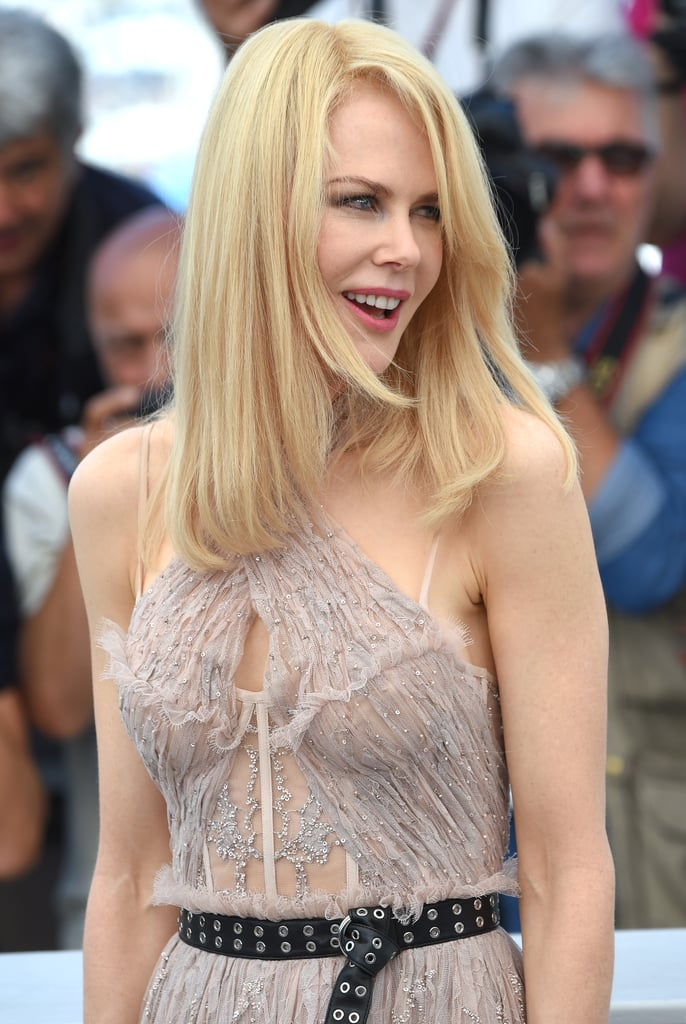 The Belt on Nicole Kidman's Alexander McQueen Dress