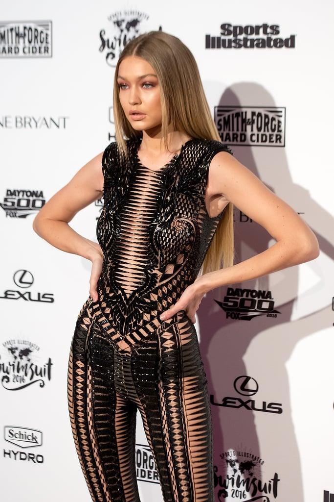 Gigi Hadid at Sports Illustrated Swimsuit Launch 2016