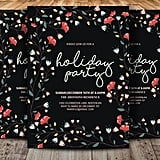 Flower Holiday Party Invitation